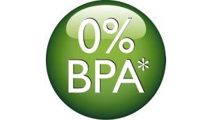 منتج خالٍ من مادة BPA بنسبة 0%