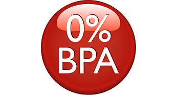 Izdelek z 0 % bisfenola A