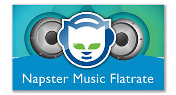 Stream and enjoy over 10 million great songs from Napster*