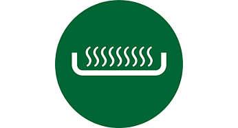 Element de încălzire plat pentru fierbere rapidă şi curăţare uşoară