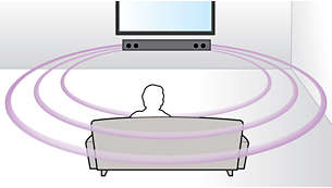 Virtual Surround Sound per un'esperienza cinematografica realistica