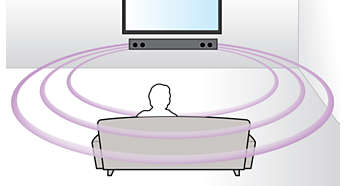 Virtual Surround Sound voor een realistische filmervaring
