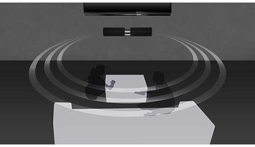 Virtual Surround Sound voor een realistische filmervaring