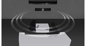 虚拟环绕音效带给您真实的影院体验