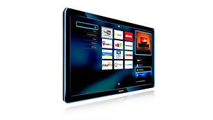 Net TV for popular online services including video stores*