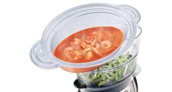 Чаша для варки XL для приготовления супа, тушеных блюд, риса и других продуктов