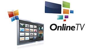 Online TV - O melhor da Internet na sua tela.