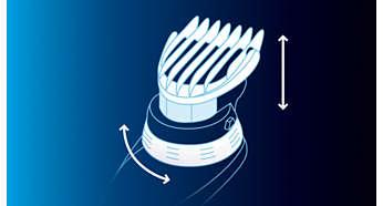 Verstellbarer Zoom-Ring für einfache Schnittlängeneinstellung