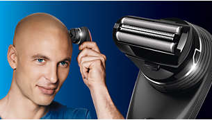 Afeitado: accesorio de rasurado para un afeitado suave y preciso