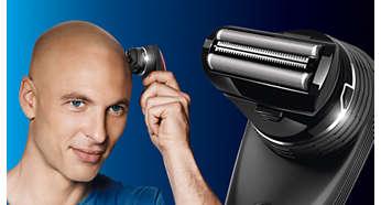 Rasatura: accessorio per radere a zero per un risultato perfettamente liscio e rasato