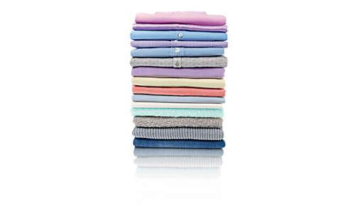 100% sicher auf allen bügelbaren Kleidungsstücken