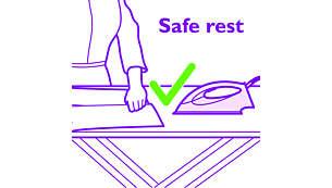100% veilig voor alle strijkbare stoffen