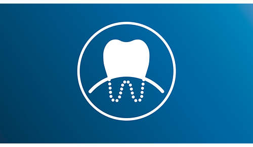 Mode Sensitive: nettoyage en douceur des dents et des gencives