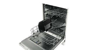 Chapa removível própria para lava-louças para uma fácil limpeza