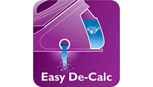 Descale your appliance effectively and easily to prolong its lifespan
