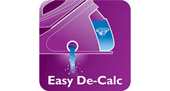 Descale effectively and easily your appliance to prolong it