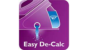 إزالة الترسبات من الجهاز بفعالية وتنظيفه بسهولة لإطالة فترة استهلاكه