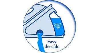 Vízkőmentesítse hatékonyan és könnyen a készülékét az élettartama meghosszabbítása érdekében