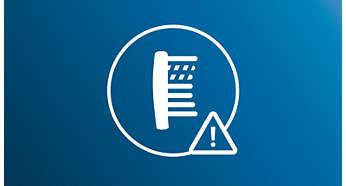 Les brins avec indicateur d'usure vous garantissent un nettoyage efficace