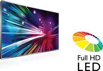 Brillante LED-Bilder mit hervorragendem Kontrast
