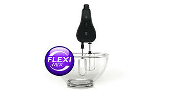 Funcţia FlexiMix permite ajungerea paletelor în toate colţurile