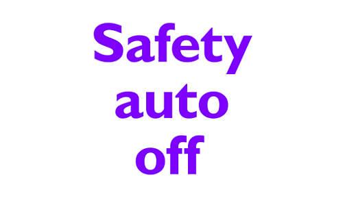 Automatisk slukning for sikkerhed og energibesparelse