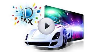 3D Max für ein beeindruckendes 3D-Erlebnis in Full HD