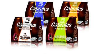 Variedades de mezclas de café Cabrales especialmente seleccionadas