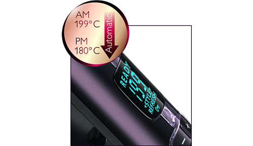 Automaattiasetuksella terveellisempää muotoilua hellävaraisemmassa lämpötilassa