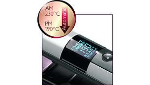 По-здравословна поддръжка през деня с автоматична настройка на по-щадяща температура