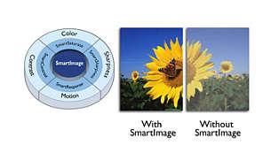 SmartImage được tối ưu hóa dễ sử dụng