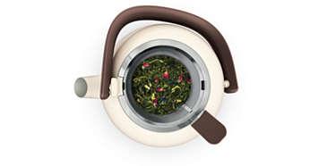 Großes Teesieb für optimalen Geschmack und Aroma