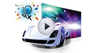 3D Max för en verkligt uppslukande 3D-upplevelse i Full HD