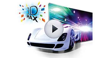 3D Max voor een overweldigende Full HD 3D-ervaring
