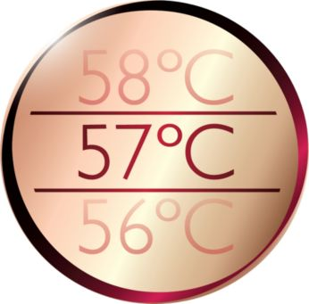 Best drying temperature with ThermoProtect temperature