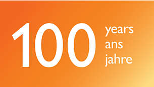 100 years of Philips expertise in light technology