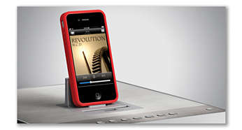 Conecta el iPod/iPhone incluso con su funda