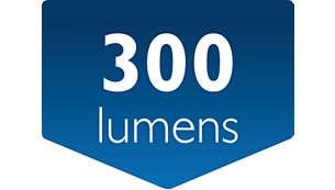 0,3 W LED med hög kapacitet för starkare ljus