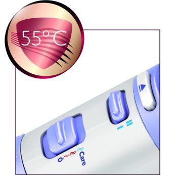 """Temperatură de uscare optimă cu setarea """"Care"""""""