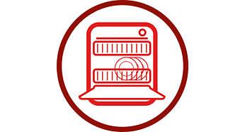 Tilbehør som kan vaskes i oppvaskmaskin
