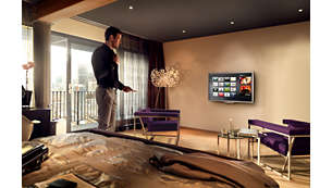 Philips Net TV for popular online services on your Hotel TV