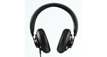 Fixarea peste ureche furnizează o izolare bună a sunetului