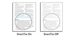 SmartTxt cho trải nghiệm đọc tối ưu