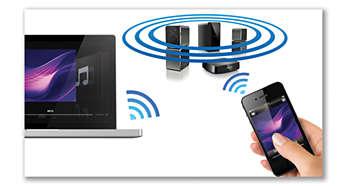 AirPlay ti offre lo streaming di musica wireless dai dispositivi Apple