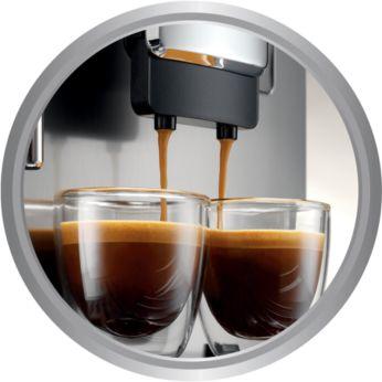 Чистая вода продлевает срок службы эспрессо-кофемашины