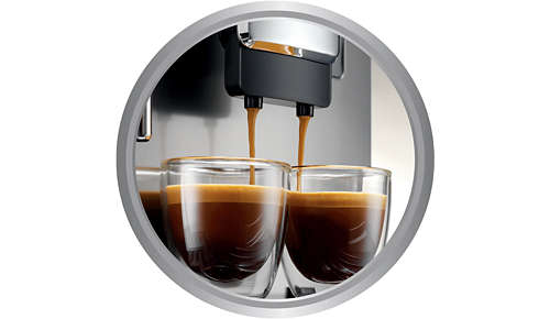 Cleaner water prolongs the life of your espresso machine