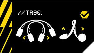 Banda de sujeción TR90 ultraflexible
