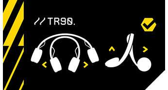 Ultra flexible TR90 headband