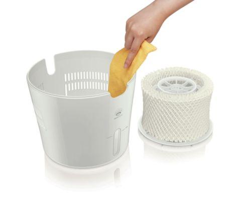 Minimalistický design umožňuje nejlepší čištění ve své třídě