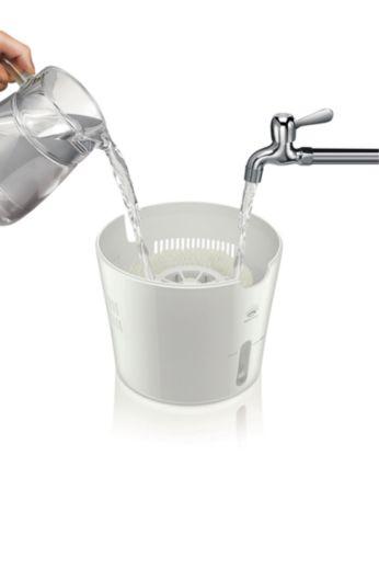 Łatwy do napełniania zbiornik
